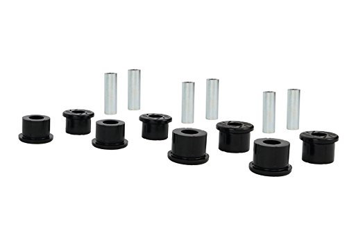 Nolathane REV165.0004 Black Leaf Spring Bushing (Rear Kits)