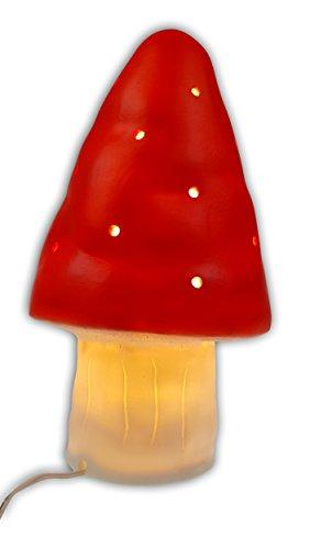 Niermann Standby Lampada decorativa fungo piccolo, Plastica, 1.5W, multi color, 15x 15x 18cm