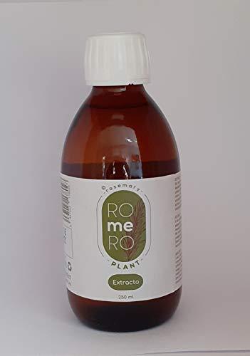 rosemary ROmeRO plant. Extracto de romero 250 ml. Corrige la flacidez de la piel, antiinflamatorio.