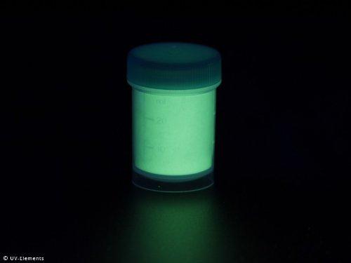 Langnachleuchtendes Pigment 25g - UV-2 - Schwarzlicht, Farbpigment, UV, Neon
