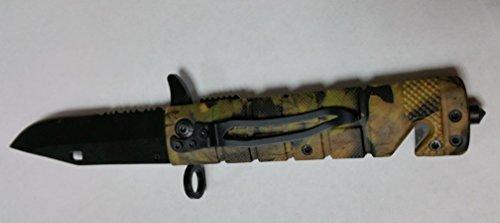 Einhandmesser Rettungsmesser II Camo Taschenmesser Anglo Arms Outdoor Surviva