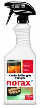 norax Kamin- & Ofenglas Reiniger 750 ml - Entfernt mühelos Ruß, Brennrückstände und hartnäckigen Schmutz *Topseller*