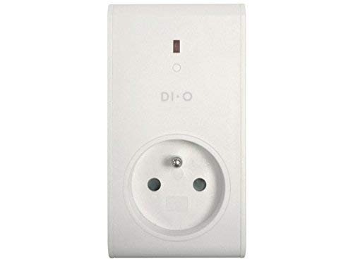 DiO Connected Home 54785 - Toma de corriente remota ON/OFF 3500W DI-O, Blanco