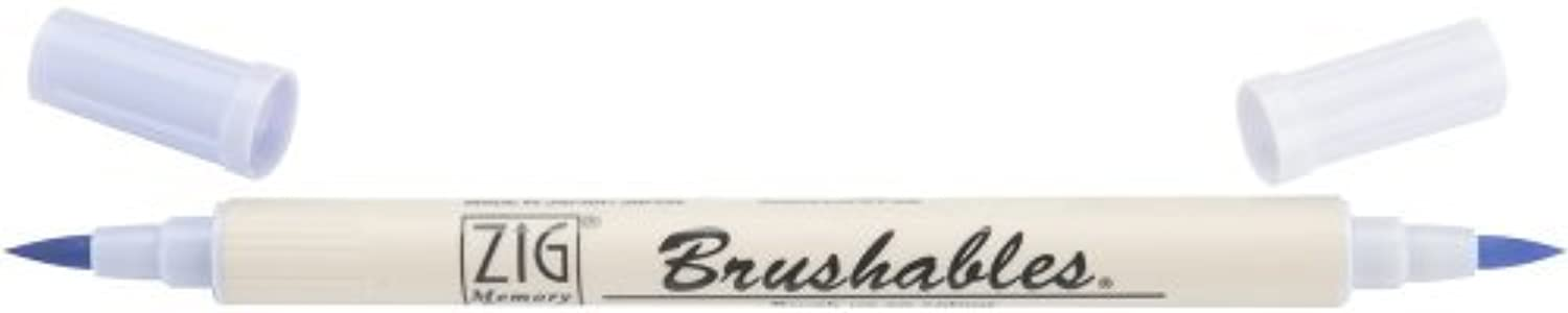 Zig Memory System Brushables Dual Tip Marker, English Lavender by Zig B01KB84QXC     |