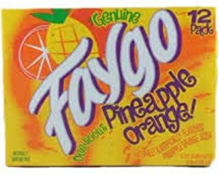 Faygo Pineapple Orange (12 pack) Cans can soda pop