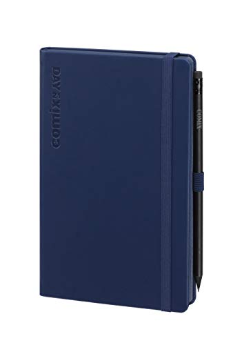 Comix Agenda 2021 12 Mesi Day Formato Large Colore Blu Commatita