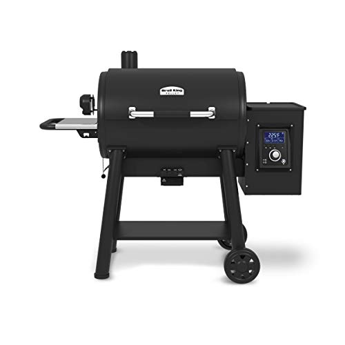 Broil King 496051 Regal 500 Pellet Grill, 865 sq. in, Black