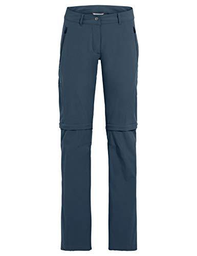 VAUDE Damen Hose Women's Farley Stretch ZO Pants, steelblue, 42, 42231