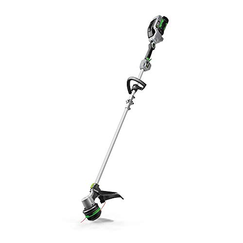 EGO Power+ ST1511S 15-Inch 56-Volt Cordless String Trimmer with POWERLOAD and Aluminum Split Shaft 2.5Ah Battery and Charger Included
