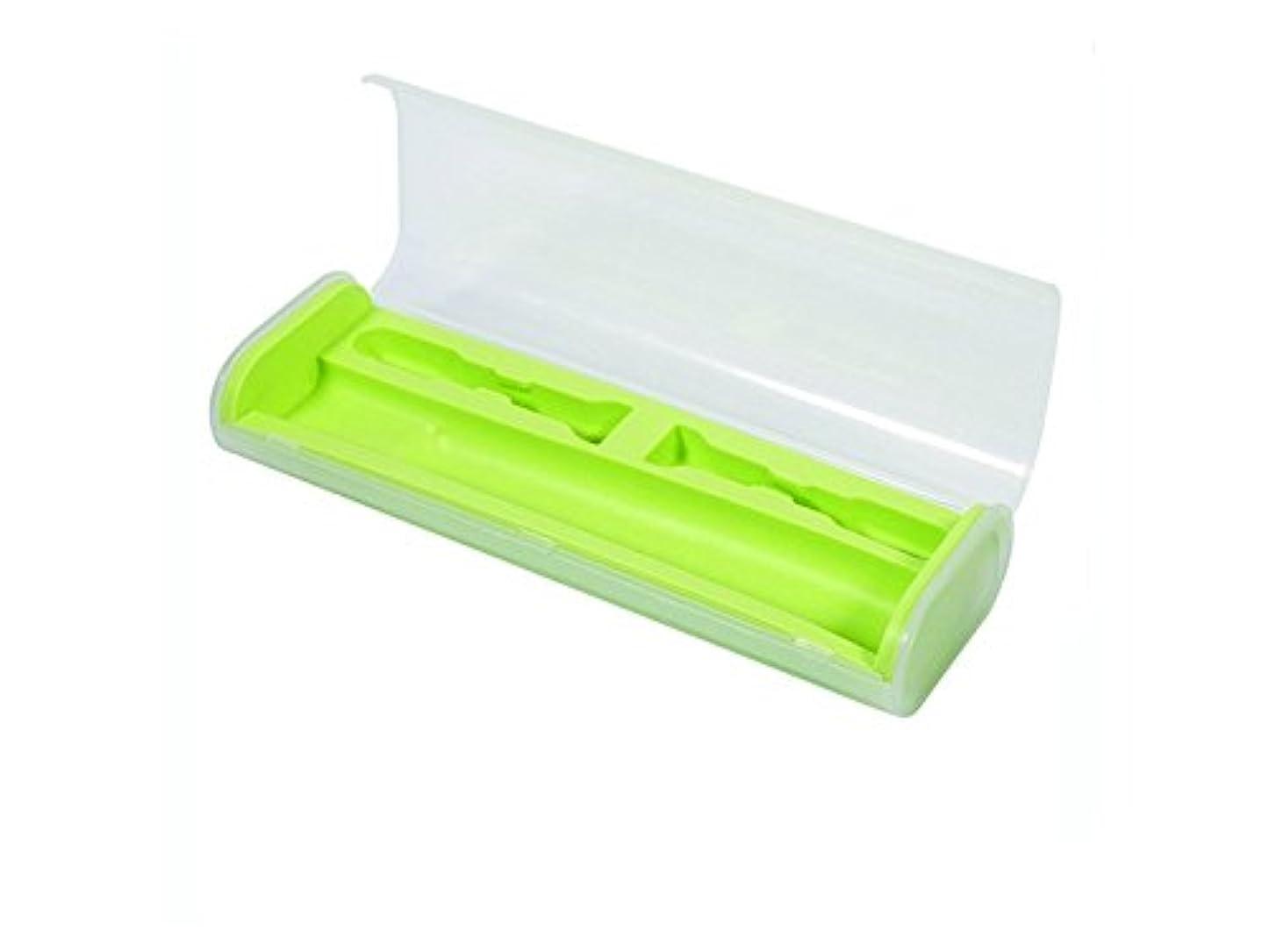 差別化する村カスタムOside 電動歯ブラシトラベルボックス歯ブラシポータブル歯のストレージボックス
