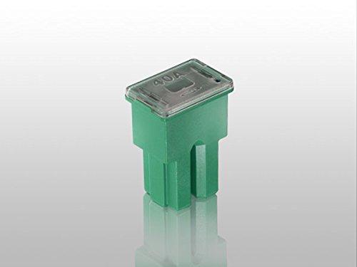 ブロック型スローブローヒューズ40A緑色/FL-SB40A-GRE