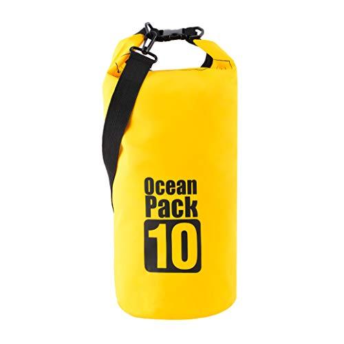 WFAL - Mochila Impermeable para Canoa, canotaje, Kayak, Deportes de Camping, PVC, Resistente al Agua, Hombre, H01, Talla única