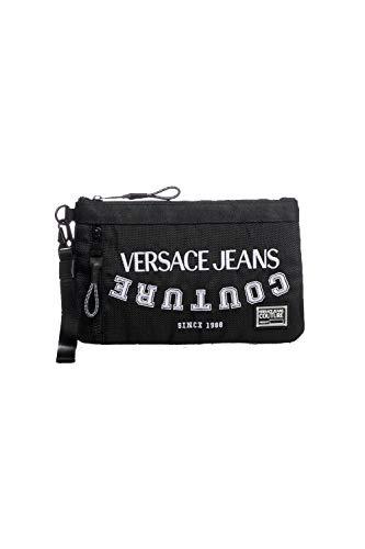 Versace Jeans Couture - Bolso de mano con texto Jeans - E3YWAP3071893899