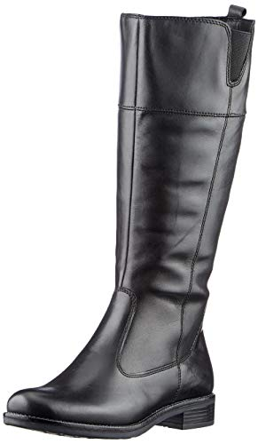 Tamaris Damen 1-1-25582-25 Kniehohe Stiefel, schwarz, 38 EU