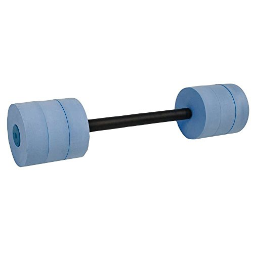 Power Systems Bar Float for Swim Fitness Training, Water Dumbbell, 25 Inches, Blue (86590)