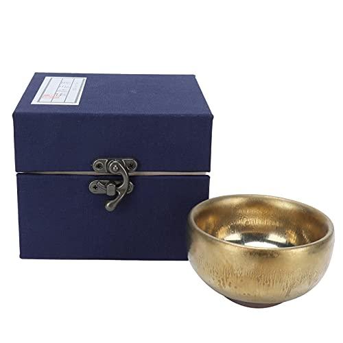Taza de té, hermosa taza de té de cerámica hecha a mano para colección de utensilios de té para barra de té para regalos para el hogar