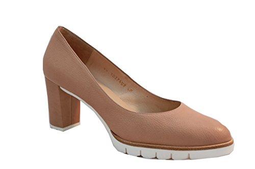 Gadea - Zapatos de Tacón Mujer, Color Beige, Talla 39,5