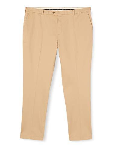 Brooks Brothers Herren Pantalone Sportivo Chino In Cotone Stretch Con Trattamento Non-Iron Beige Scuro Kompressionshose, 36 34