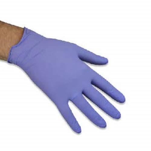 touchflex n318b-30X L Einweg puderfrei Nitril Handschuhe, X-Large/10, lila (100Stück)