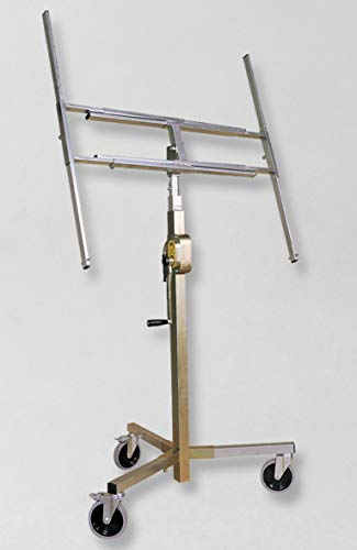 Akifix NAP01001 Alzalastre,telescopico,a cremagliera,Ruote smontabili