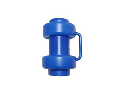 6 Stück Blaue Kappen für Innenliegendes Sicherheitsnetz Stangen Ø 25 mm Ersatzteil