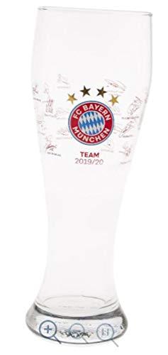 Bayern München compatibel witbierglas + sticker München Forever, bierglas tarwebierglas