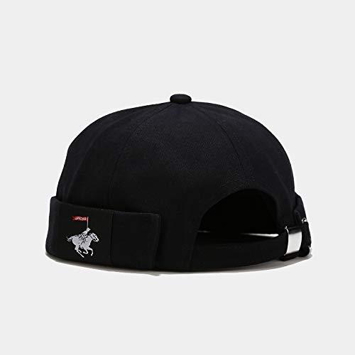 wopiaol Melon hat, eavesless yuppie hat, female Korean street trend, hip-hop wild net red hat, spring and autumn hat, male