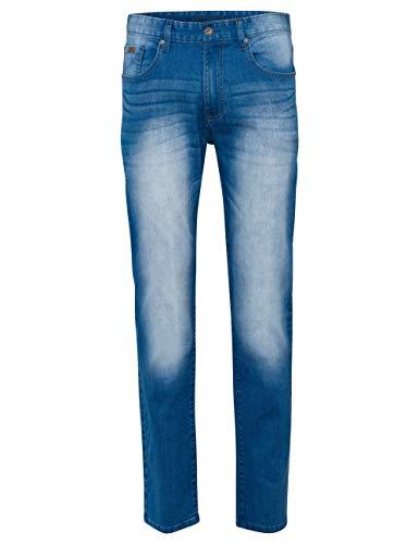 ROADSIGN Herren Jeans Hose Denim Pants Blue Denim Jeanshose bis Größe 38 (36W / 32L)