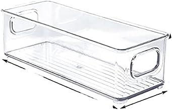 Boîte de rangement pour réfrigérateur, tiroir d'armoire de cuisine transparent, organisateur de nourriture pour œufs en PE...