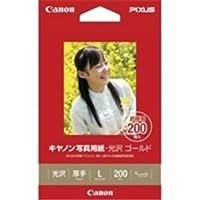 (業務用30セット) キャノン Canon 写真紙 光沢ゴールド GL-101L200 L 200枚 ×30セット