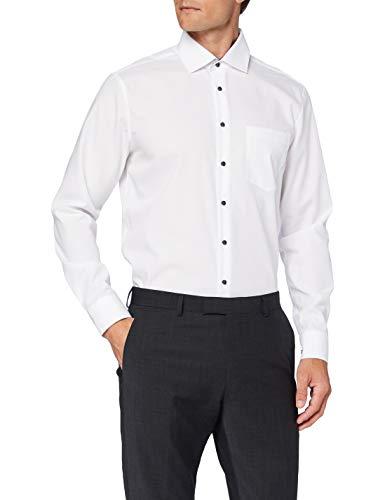 Seidensticker Herren Business Hemd, Weiß (Weiß), 38