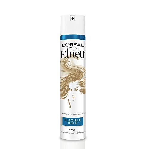 L'Oreal Hairspray By Elnett for Flexible Hold & Shine, 200ml