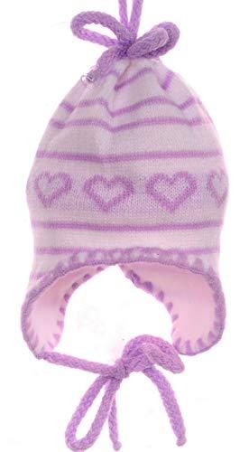 La Bortini Mütze Baby Kinder Mützchen Frühjahr 36-38 cm KU 0-2 Mon