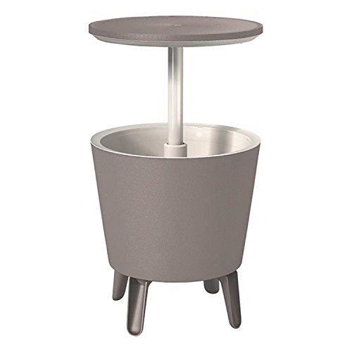 Keter 17186745 CoolBar-Lounge- und Cafe- Tisch, teleskop, bl/ws