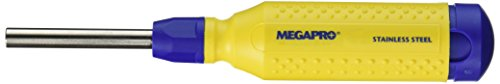 MegaPro 151SS 15-In-1 Stainless Steel Driver in Yellow/Blue