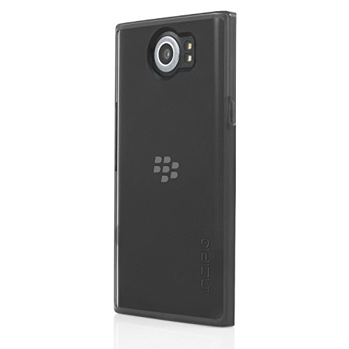 Incipio Octane Pure Hülle für BlackBerry PRIV - von BlackBerry zertifizierte Schutzhülle [getestet nach Militärstandard | Integrierter Bumper | Transparent | Hybrid] - BB-1044-BLK