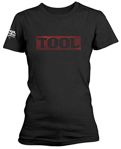 Tool 'Shaded Box' (Black) Womens Fitted T-Shirt (x-Large)