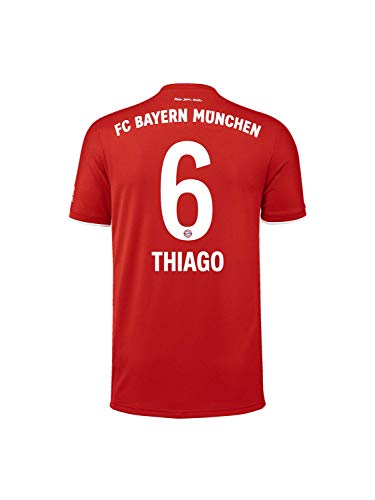 FC Bayern München Kinder Home-Trikot Saison 2020/21, Gr. 140, Thiago Alcántara