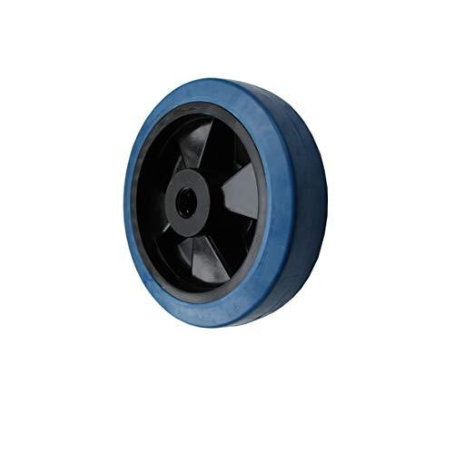 Rad Rolle 200mm Bluewheels Erstazrad Transportrolle Transportrad