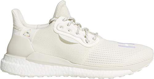 adidas Pharrell Williams Solar HU Zapatillas de correr, color blanco, blanco, 44