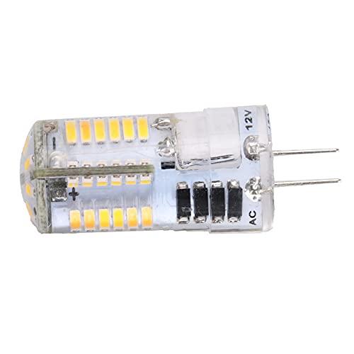 G4 Bombillas LED 5W 12V AC/DC Mini Cápsula Bombillas G4 Lámpara Equivalente 500LM Base de Dos Clavijas Tipo J-C Ahorro de Energía Sin Parpadeo No Regulable Para Iluminación Decoración (Luz natural)