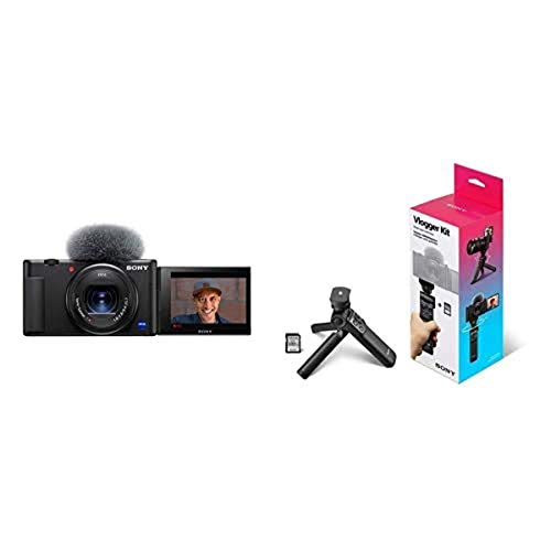 Sony ZV-1 Camera for Content Creators and Vloggers with Vlogger Accessory Kit