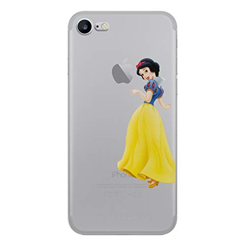 iCHOOSE prinses gel behuizing voor smartphone Apple iPhone 6 / 6s Biancaneve - In Piedi