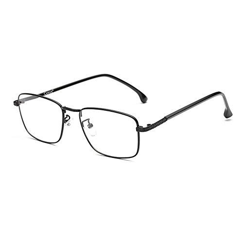 Cyxus Herren Brille mit Blaulichtfilter Ohne Sehstärke, Anti Blaulicht, UV 400, Computer Brille Geschäftsbrille Blue Light Glasses(8752 Schwarz)