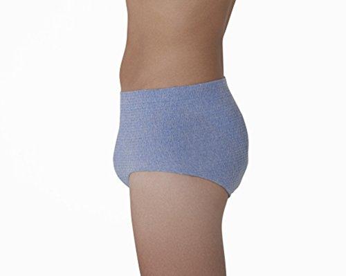 『HASO 紙から生まれた新素材機能性 パンツ+吸水パッド 男性用L~LLサイズ(パンツ5枚+パッド10枚)(ウエスト 75~120cm)』の6枚目の画像