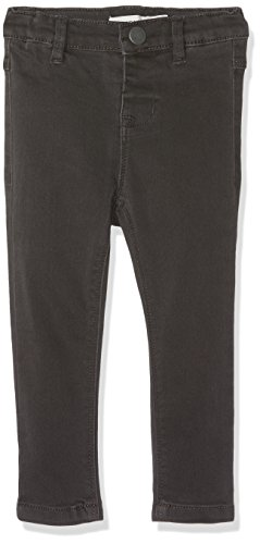 Name It Nittera Skinny DNM Pant Mini Noos Pantalon, Gris (Dark Grey Denim), 80 Bébé Fille
