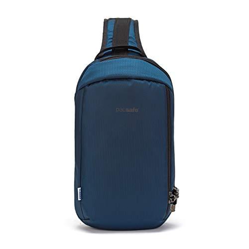 PacSafe Vibe 325 10L Anti-Diebstahl-Slingpack/Crossbody-Fits 33 cm (13 Zoll) Laptop, ECONYL Ocean