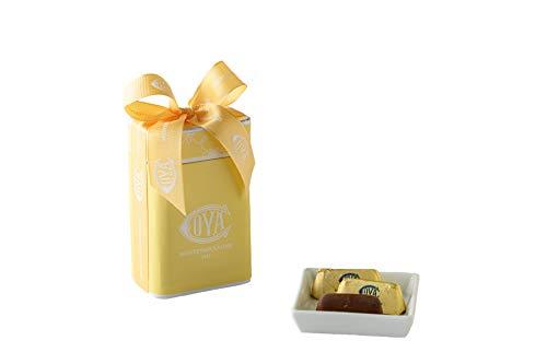 COVA MONTENAPOLEONE 1817(コヴァ モンテナポレオーネ) ジャンドゥイオッティ イエローボックス チョコレート 手土産 贈答用 お礼 ギフト お菓子 高級 手提げ付き 150g