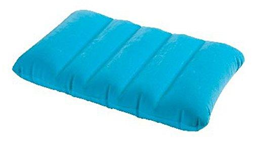 aufblasbares Kissen Reisekissen Strandkissen Campingkissen Kopfkissen Sitzkissen (Hellblau)