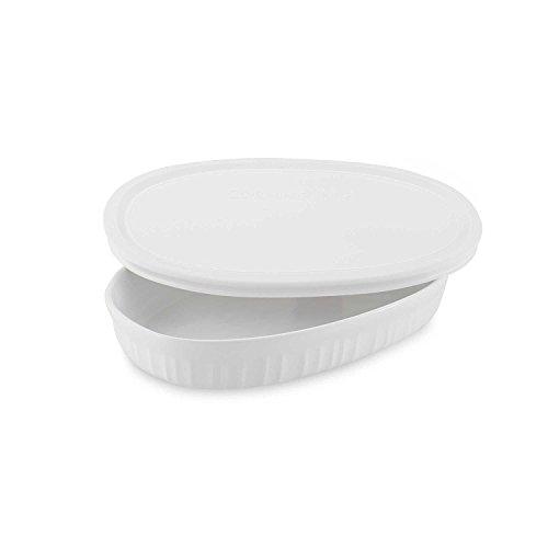 CorningWare French White 15-Ounce Oval Dish